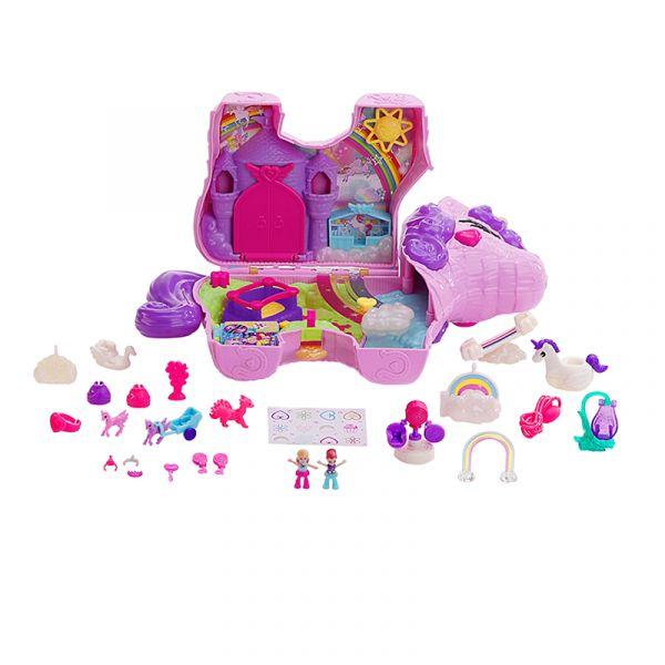 Polly Pocket và bữa tiệc bất ngờ cùng Rainbow Unicorn