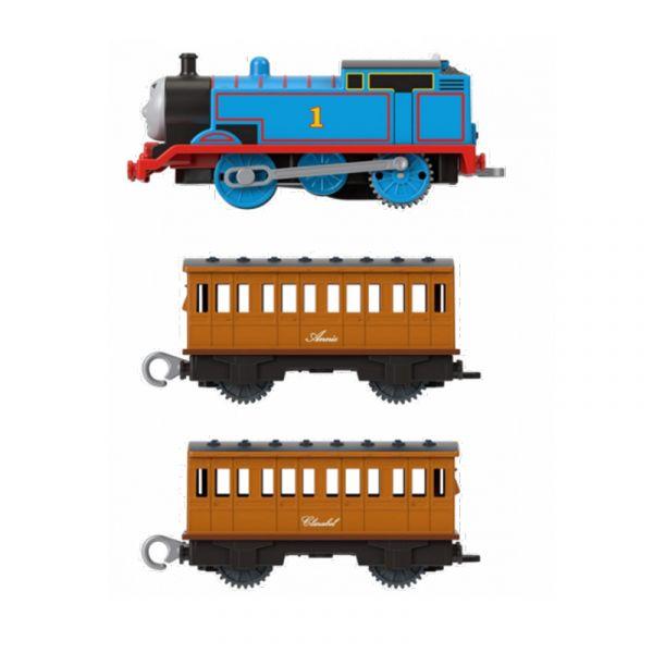 Động cơ đầu kéo và toa tàu Thomas- Annie và Clarabel
