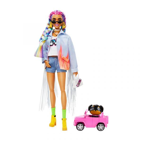 Búp bê Barbie Extra RAINBOW BRAIDS