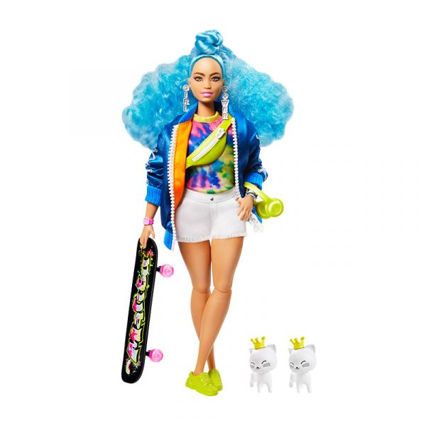 Búp bê Barbie Extra BLUE CURLY HAIR