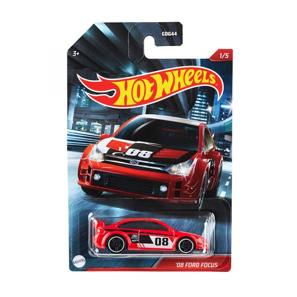 Siêu xe Hot Wheels thể thao AUTOMOTIVE 08 FORD FOCUS