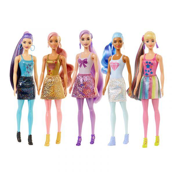 Búp Bê Barbie Đổi Màu Phiên Bản Lấp Lánh