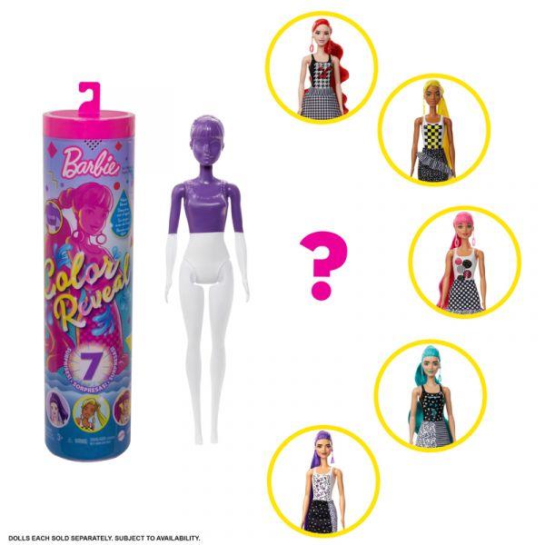 Búp bê đổi màu Barbie - Phiên bản Color Block