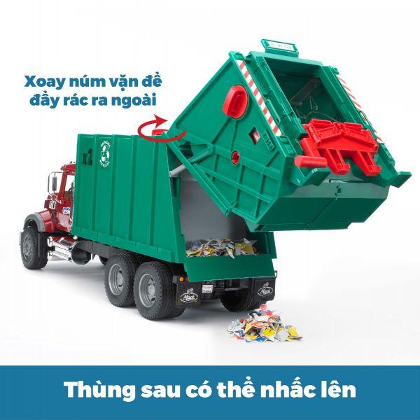 Xe chở rác MACK Granite
