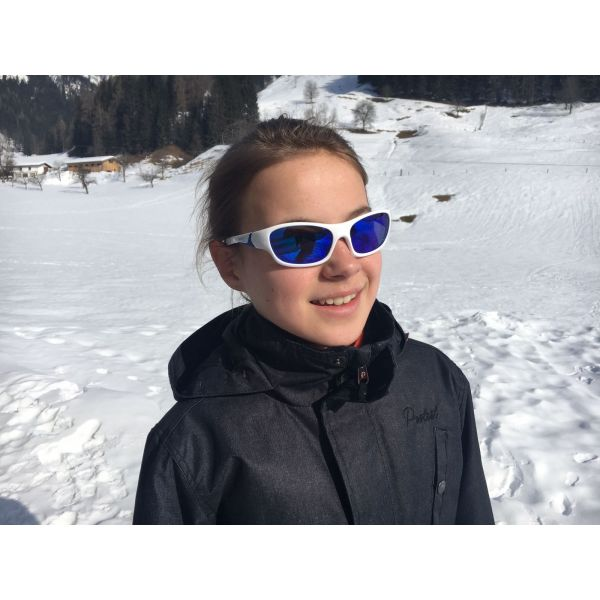 Kính mát thể thao White Royal Blue 6-12 tuổi