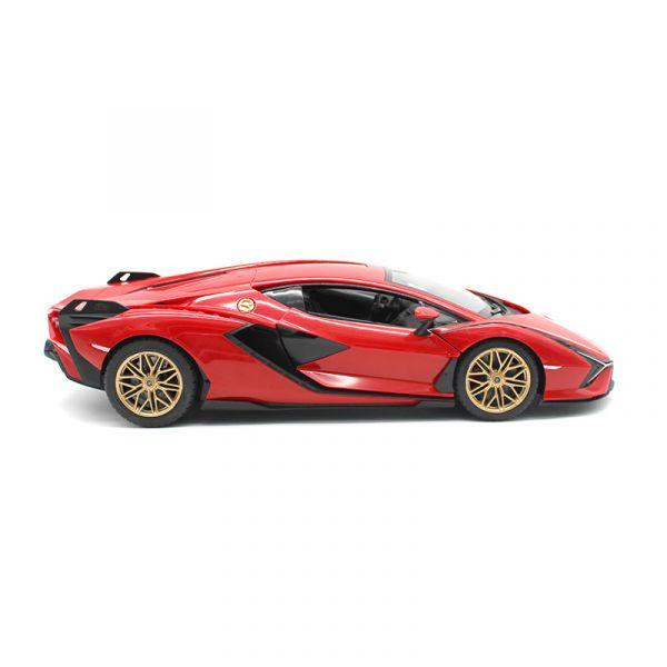 Xe điều khiển 1:14 Lamborghini Sian, có thể mở cửa Đỏ