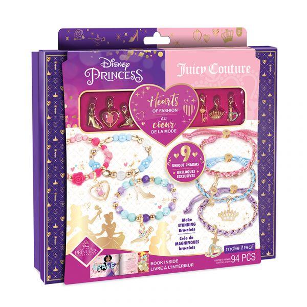 Bộ thiết kế vòng tay Công Chúa Disney x Juicy Couture