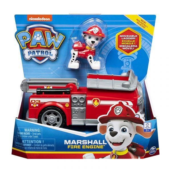 Xe cứu hộ cơ bản Paw Patrol - Marshall