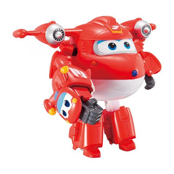 Robot Biến hình Cỡ lớn Jett Siêu Cấp kết hợp thú cưng Jett