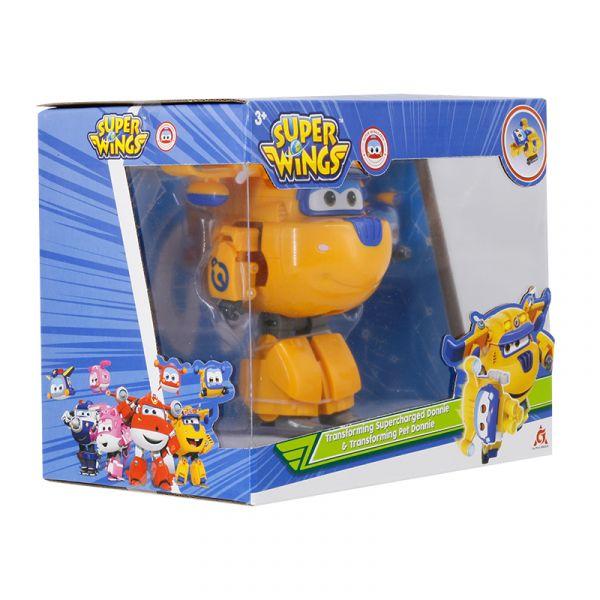 Robot Biến hình Cỡ lớn Donnie Xây dựng kết hợp thú cưng Donn