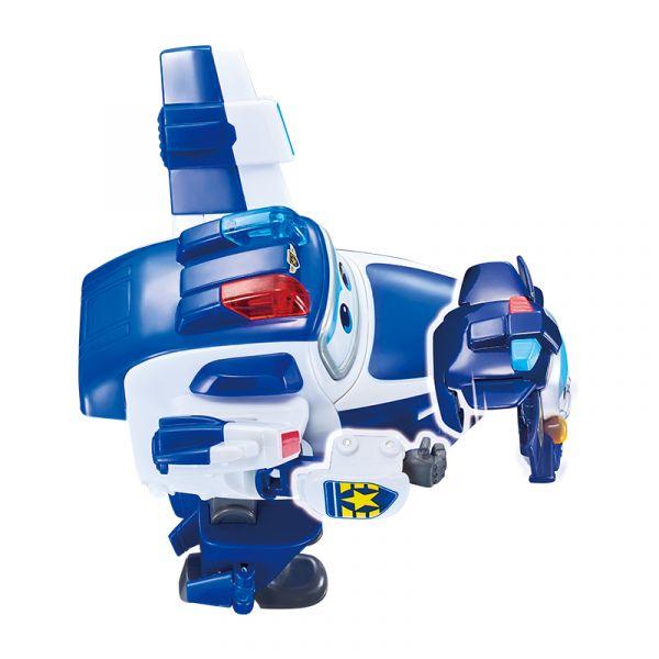 Robot Biến hình Cỡ lớn Paul cảnh sát kết hợp thú cưng Paul