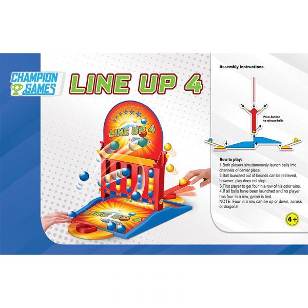 Trò chơi bắn banh Line Up 4