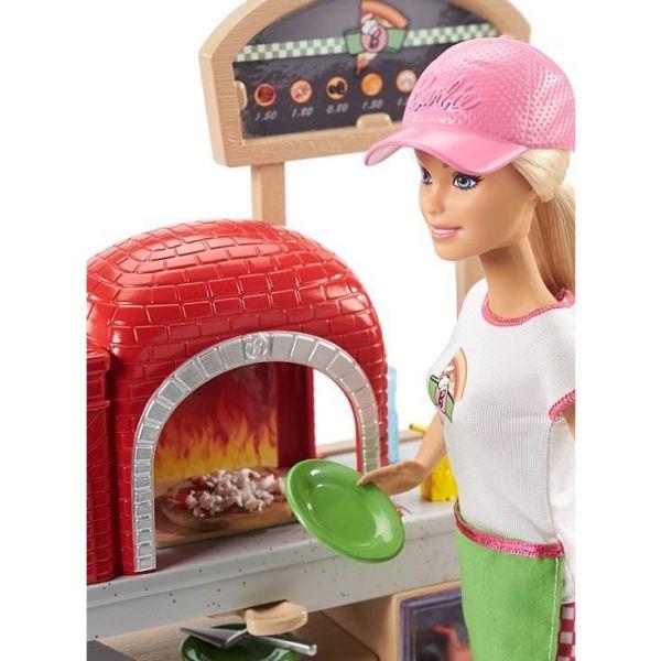 Búp bê Barbie - Tập làm bánh Pizza