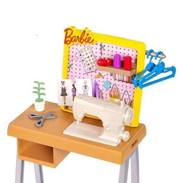 Bộ phụ kiện đồ dùng nghề nghiệp Barbie - Phòng thiết kế thời