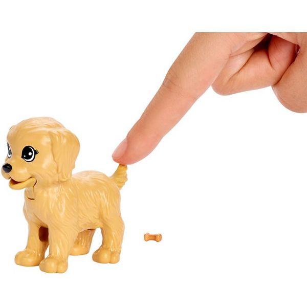 Búp bê Barbie chăm sóc cún cưng