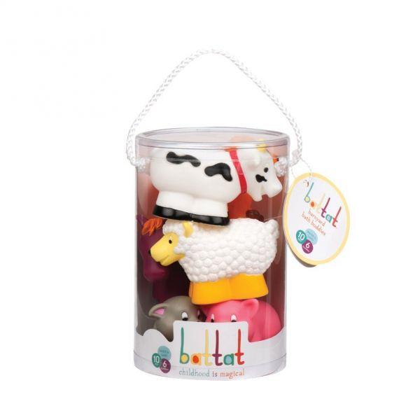 Bộ đồ chơi nhà tắm - thú nông trại