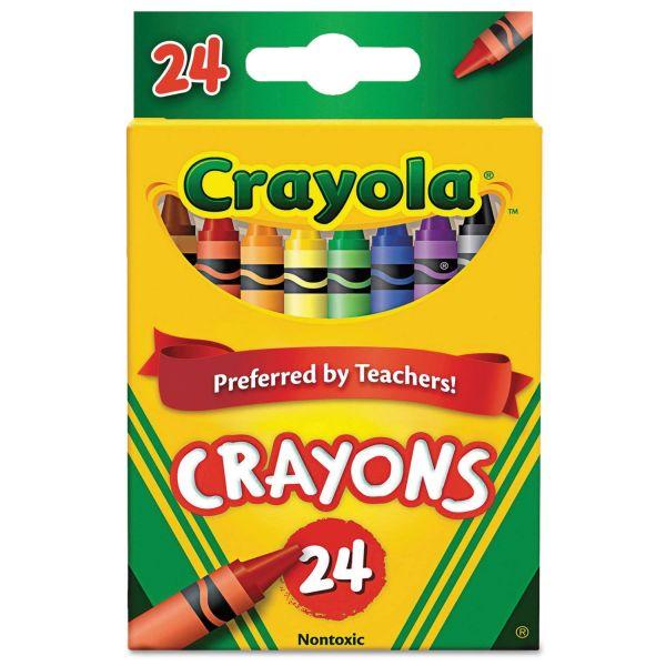 Bộ bút sáp 24 màu