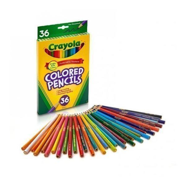 Bút chì 36 màu dạng dài