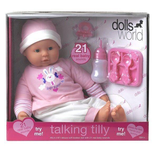 Đồ chơi búp bê Tilly bập bẹ 46cm