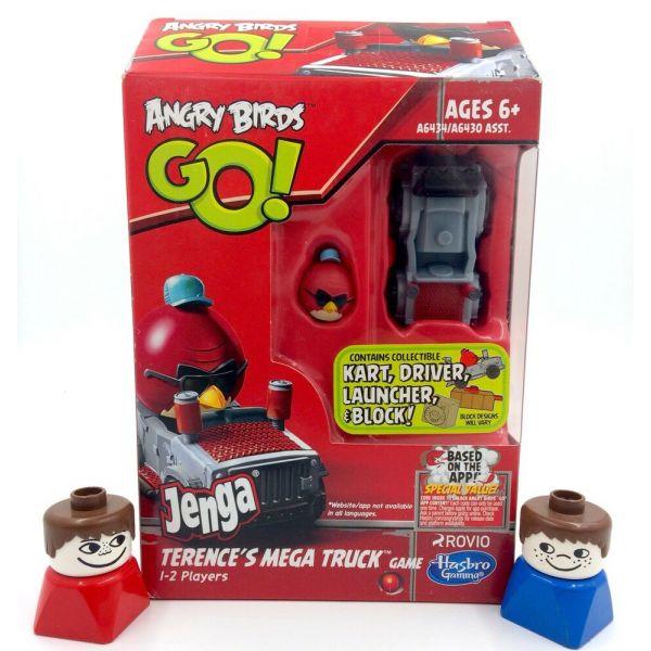 AngryBird Go Jenga và siêu xe kéo Terences