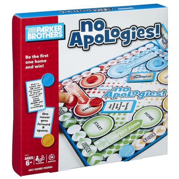 Parker Brothers - Trò chơi cuộc đua No Apologies
