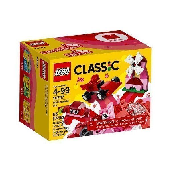 Hộp Lắp Ráp Classic Màu Đỏ