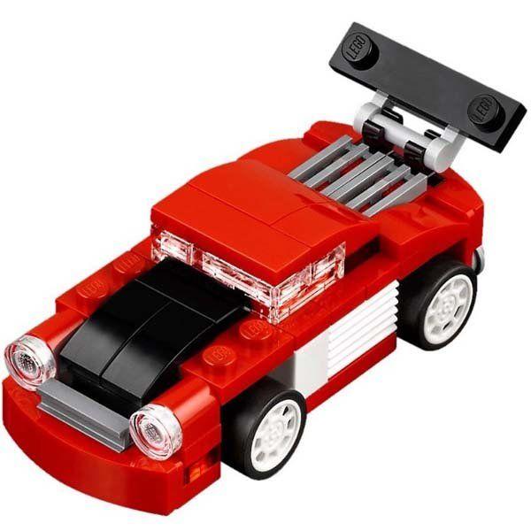 Xe Đua Đỏ Mini