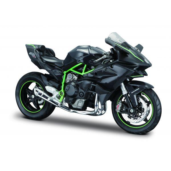 Mô hình mô tô 1:12 dòng Kawasaki Ninja H2TM R