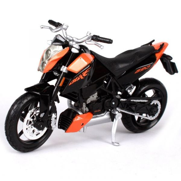 mô tô mô hình 1:18 KTM 690 Duke