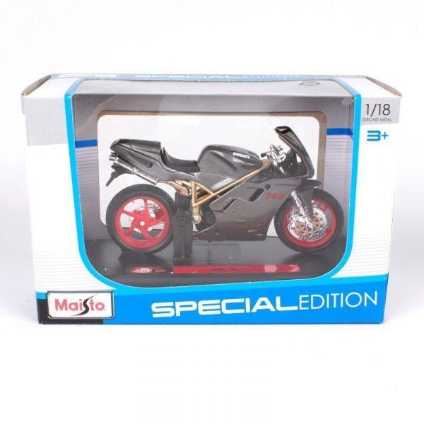 mô tô mô hình 1:18 Ducati 748