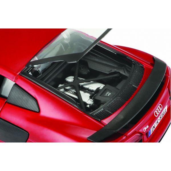 Đồ chơi mô hình lắp ráp Audi R8 V10 Plus tỉ lệ 1:24