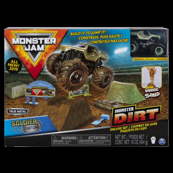Xe ô tô Playset thách thức chướng ngại vật Monster Jam