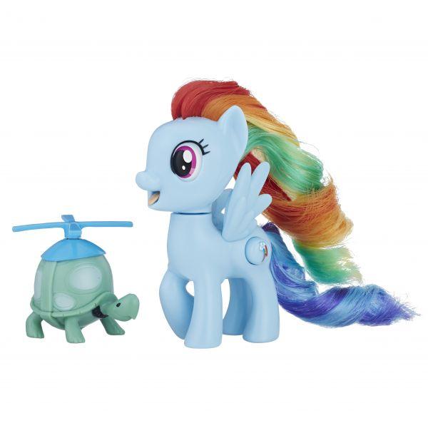 Rainbow Dash và người bạn bé nhỏ
