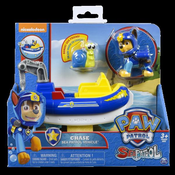 Chase và tàu cảnh sát