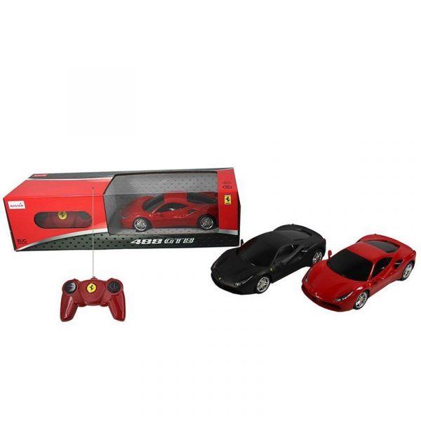 Xe điều khiển 1:24 Ferrari 488 GTB_màu Đen