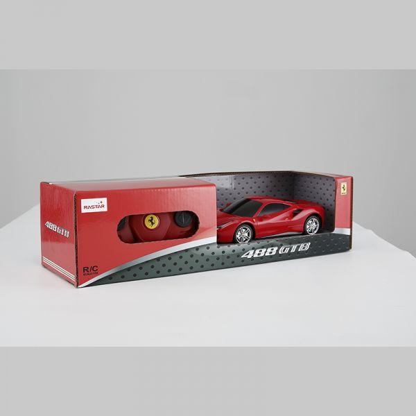 Xe điều khiển 1:24 Ferrari 488 GTB_màu Đỏ