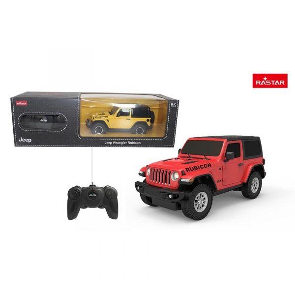 Xe điều khiển 1:24 Jeep Wrangler JL_màu Đỏ