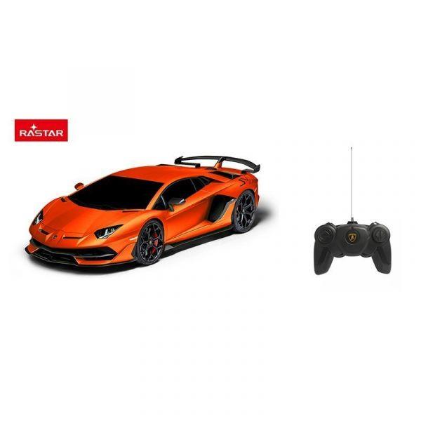 Xe điều khiển 1:24 Lamborghini Aventador SVJ_màu Cam