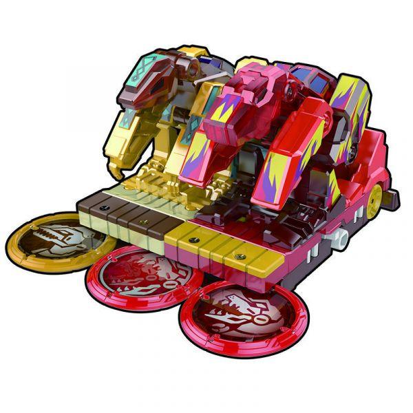 Đồ chơi xe biến hình Khủng Long bão lửa