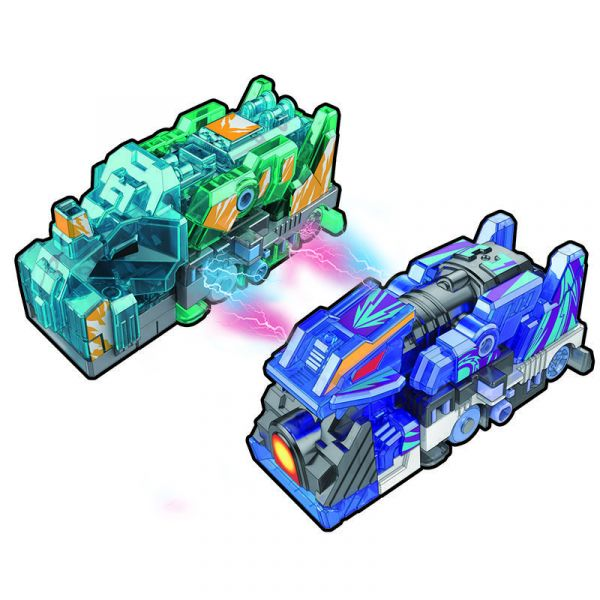Đồ chơi xe biến hình Tê giác Thần tốc