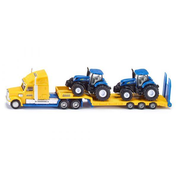 Xe tải kéo 2 đầu xe nông nghiệp