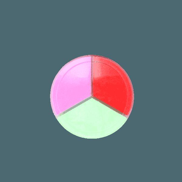 Chất nhờn ma quái Slime Trio hũ 3 màu-hương thơm- loại 3 (xa
