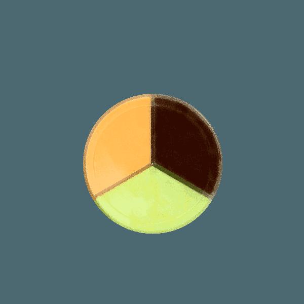 Chất nhờn ma quái Slime Trio hũ 3 màu-hương thơm- loại 4 (ca