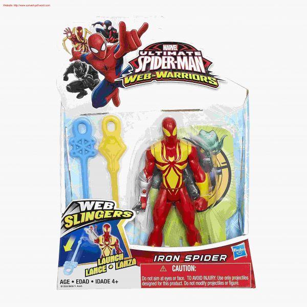 Người nhện sắt phóng phi tiêu