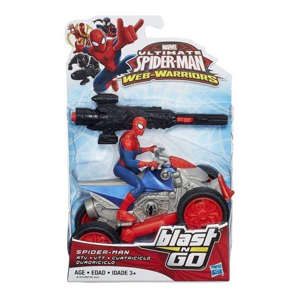 Siêu xe Spiderman ATV