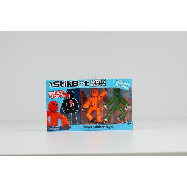 Stikbot huyền bí-cam và xanh lá cây