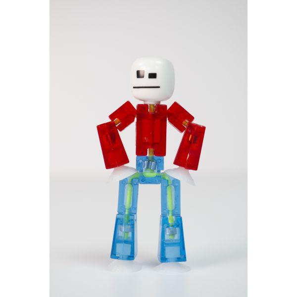 Stikbot nguyên bản dòng 3-trắng và đỏ và xanh da trời
