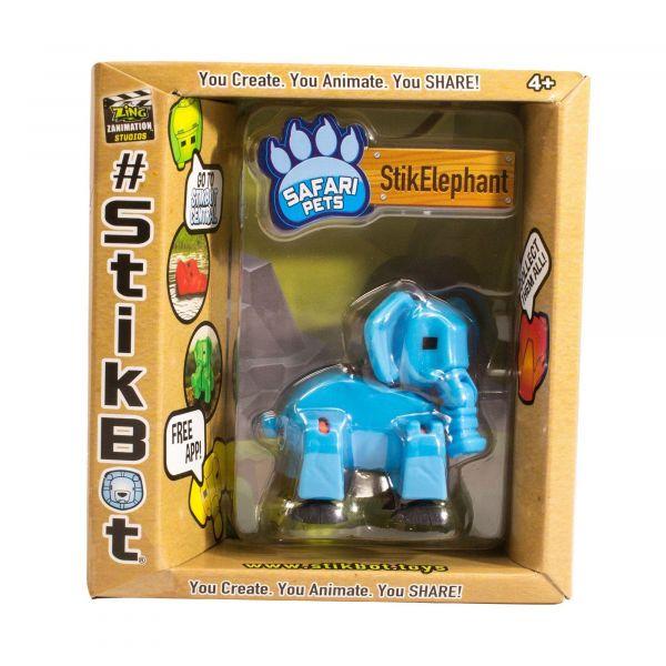 Stikbot safari-voi con-xanh da trời