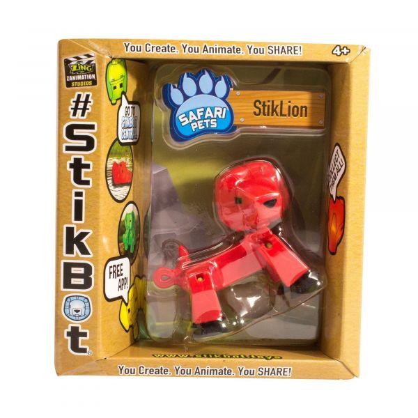 Stikbot safari-sư tử-đỏ