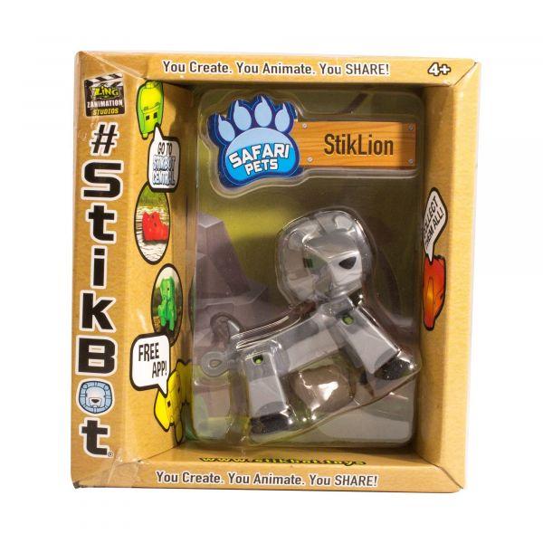 Stikbot safari sư tử-bạc